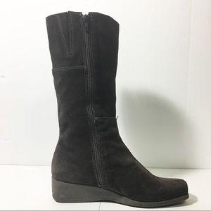 Nexday brown suede boots